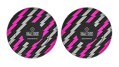 Muc Off Disc Brake Covers Set Of 2 Disc Rotor Covers - Bolt • 19.95£