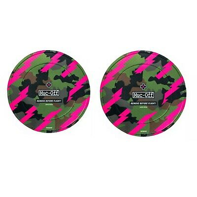 Muc Off Disc Brake Covers Set Of 2 Disc Rotor Covers - CAMO • 19.95£