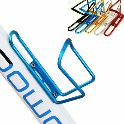 Sports Bike Bicycle Cycling Drink Water Bottle Holder Aluminum Alloy Rack Cages • 3.99£