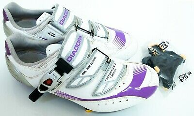 Diadora Speedracer 2 Carbon Cycling Shoes Size 6.5 Womens Ladies Uk 6 Suited • 0.99£