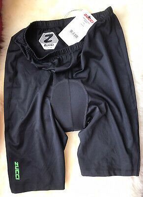 Mens Zucci Black Cycling Shorts With Pad Size M New With Tags • 6.50£