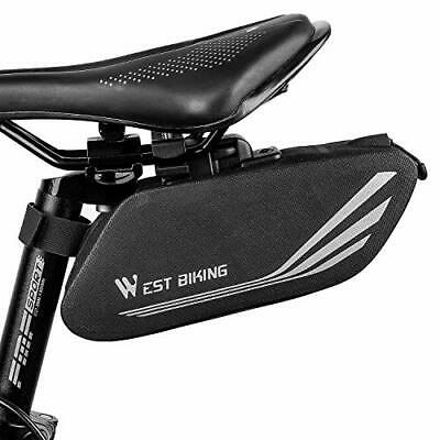 Bike Saddle Bag, Bicycle Storage Bag Under Seat Tail Pouch Waterproof, • 14.99£