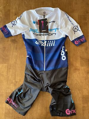 Medium NoPinz Road Race 2.0 Speed Suit - Team Issue SwiftCarbon Pro Cycling UCI • 200£