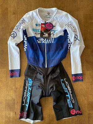 Small NoPinz Time Warp Speed Suit TT - Team Issue SwiftCarbon Pro Cycling UCI • 200£