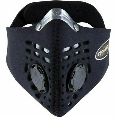 Techno RESPRO Anti-Pollution Filter Face Mask For Cycling Motorcycling Running • 35£