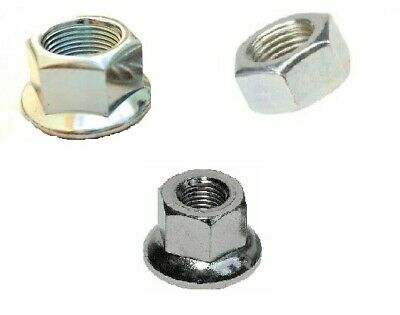 Bike-Cycle-Bicycle Wheel Axle Hub Nut 10mm 3/8 5/16 • 1.70£
