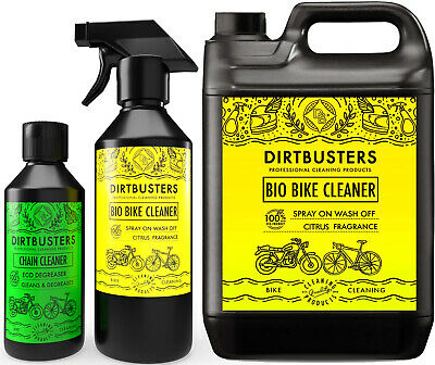 Dirtbusters Bike Cleaning Kit Cleaner Cycle Motorcycle Motorbike Chain Cleaner • 19.99£