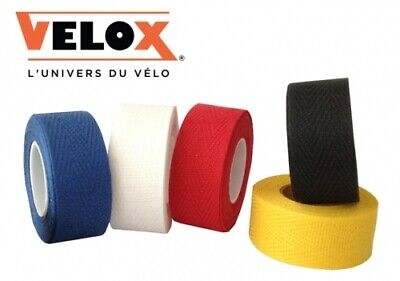 Cloth Drop Handlebar Tape Retro Vintage Velox Tressorex 85 Colours Vintage Plugs • 6.49£
