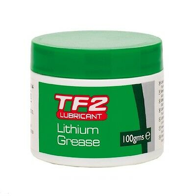 Bike-Cycle-Bicycle Weldtite Bearings Tf2 Lubricant White Lithium Grease 100G Tub • 7.80£