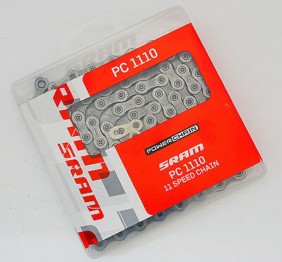 SRAM PC-1110 PC 1110 11 Speed Chain, Fit XX1/X01/X1/GX/NX/Force 1/Rival 1/Apex 1 • 18.11£