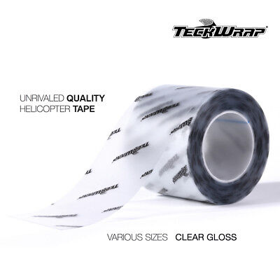 Teckwrap Helicopter Tape // Bike Protection Film Clear // All Sizes 1M 2M 3M • 12.99£