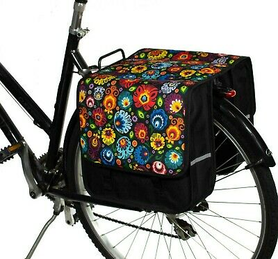 BikyBag Classic L - Bicycle Double Pannier Bag Cycle Bike  • 24£