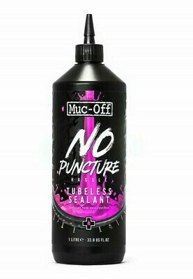 Muc-Off No Puncture Hassle Tubeless Sealant Range Quantity *New Lower Price  • 6.95£