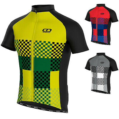 Didoo Mens Cycling Jersey Short Sleeve Top Cycle Summer MTB Racing Compression • 15.49£