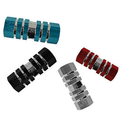 LN_ GN- Bike Bicycle BMX MTB Cylinder Alloy Pedal 3/8  Axle Foot Stunt Pegs Ma • 1.95£