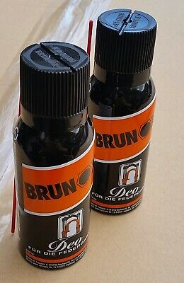 2 X Cans BRUNOX DEO Bicycle Suspension Fork Lube Recommended By ROCK-SHOX© • 12.89£