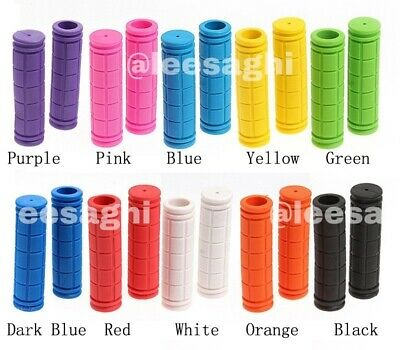 New Soft Bike Handle Grip Silicone Rubber BMX,MTB Cycle Bicycle Bar-Anti Skid-UK • 3.80£