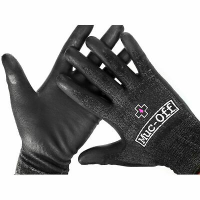New Packaged Pair Muc-Off Mechanic Gloves – Road & MTB Bike – Various Sizes • 6.95£