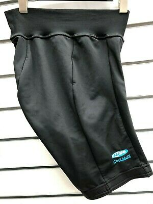 NEW LUSSO LADIES COOLMAX CYCLING SHORTS. BLACK. XL Or SMALL. JUST £12.99!! • 12.99£