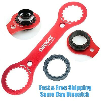 Bike Bottom Bracket BB Spanner Tool 16 24 Notch Shimano SRAM RaceFace FSA • 9.99£