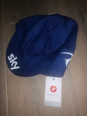 Team Sky Castelli Cycling Cap Brand New With Tags • 6£
