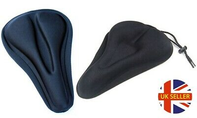 Gel Bike Seat Cover Saddle Bicycle Extra Comfort Padding Soft Cushion COUTURED  • 10.95£