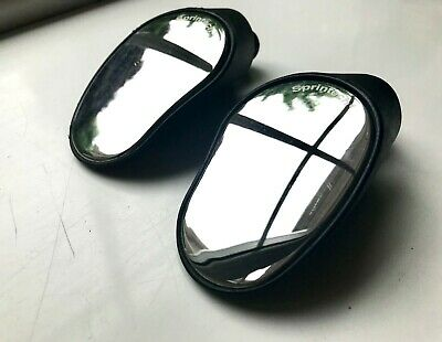 Sprintech Rearview Mirrors For Dropbars - Pair - Black • 30£