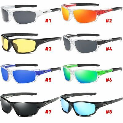 DUBERY Polarized Sport Sunglasses Outdoor Cylcing Fishing Goggles Glasses UK • 7.69£