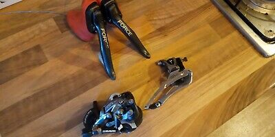 SRAM Force Mini Groupset 2 X 10 Speed Shifters And Mechs Not Red Rival Or Apex • 40£
