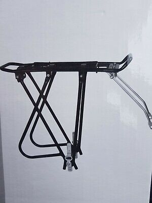 Alloy Rear Bicycle Pannier Rack Carrier Bag Luggage Cycle Mountain Bike 26 - 28  • 15.19£