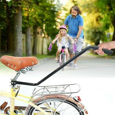 Bike Bicycle Practical Training Push Handle Bar Safety Balance Trainer For Kids • 10.49£