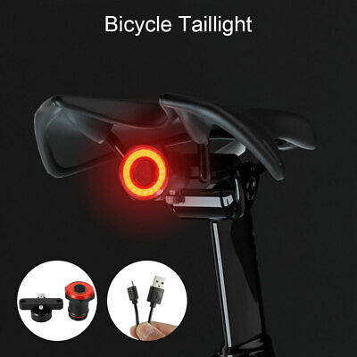 Bicycle Bike Rear Tail Lights Bcak Intelligent Sensor Brake USB Xlite100 MTB BM • 9.49£
