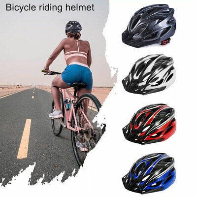Bicycle Helmet Bike Cycling Adult Adjustable Mens Safety Helmet Outdoor Sport BM • 8.99£