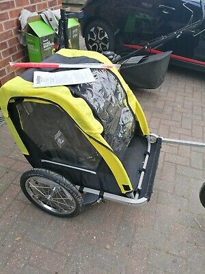 Halfords 155393 Double Buggy Child Bike Trailer • 30£