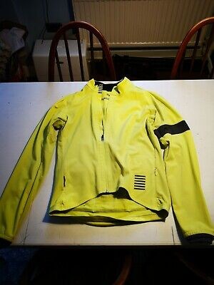 Rapha Pro Team Jacket - Soft Shell - Mens - Large - Chartreuse - Cycling • 34£