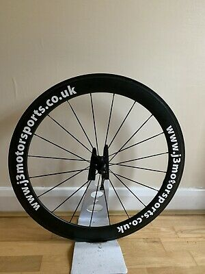 50mm Carbon Clincher Front Wheel • 85£