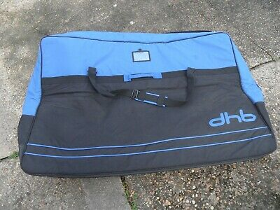 DHB Soft Bike Travel Bag With Compartments For Wheels & Other Zipped Pockets  • 28£