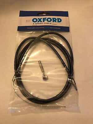 Oxford Sturmey Archer Replacement Trigger Type Gear Cable + Anchorage • 4.85£