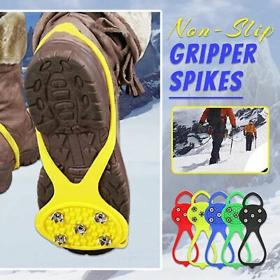Universal Non-Slip Gripper Spikes Over Shoe Durable Cleats With Good Elasticity  • 3.87£