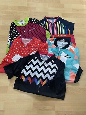 Set Of 5 Ladies Cycling Shirts L • 15£