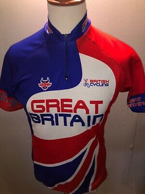 Great Britain British Cycling Team Jersey Size L • 10£