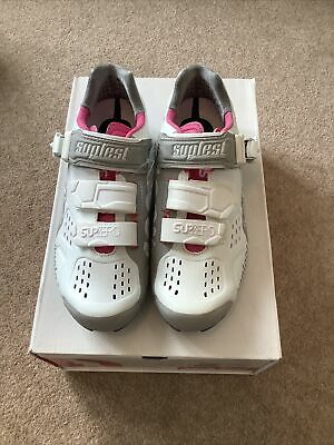 Suplest Street Racing Womens Cycling Shoes Size 38 RRP £160 • 65£