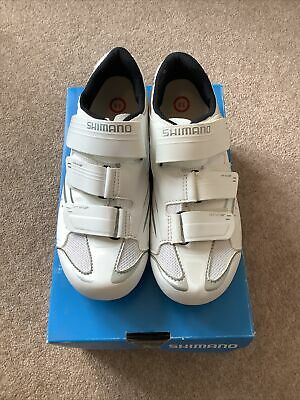 Shimano Womens Cycling Shoes WR32 White Size 38 RRP £74.99 • 30£