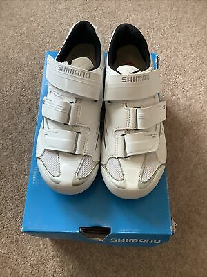 Shimano Womens Cycling Shoes WR32 White Size 37 RRP £74.99 • 30£