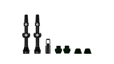 New Muc-Off Tubeless Valves Kit – Choose 60mm Or 40mm - Black Or Silver • 14.95£