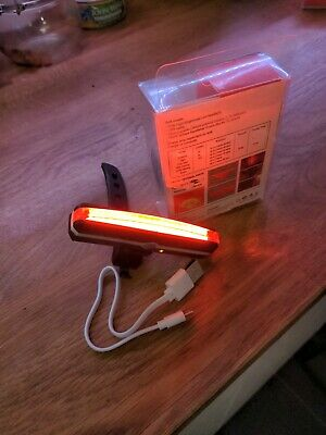 Rear Bike Light, Rechargeable Usb! Great Value!! Fast Dispatch!! Very Bright!!  • 7.50£