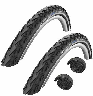 700 X 40c SCHWALBE LAND CRUISER Puncture Protection KNOBLY Hybrid Bike Tyre • 33.99£