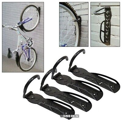 4 Pack Of  Wall Mounted Cycle Storage Hook Bike Rack Space Saving Cycle Stand • 33.95£