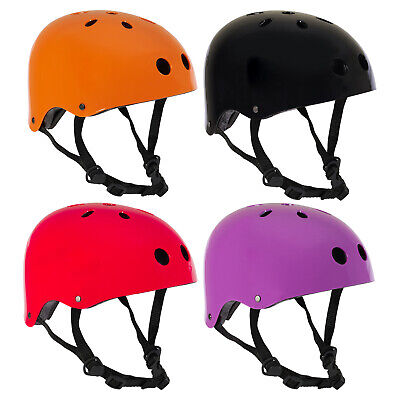 PedalPro Gloss BMX Skate Safety Helmet Bike/Bicycle/Cycle/Scooter Skating Adult  • 11.99£