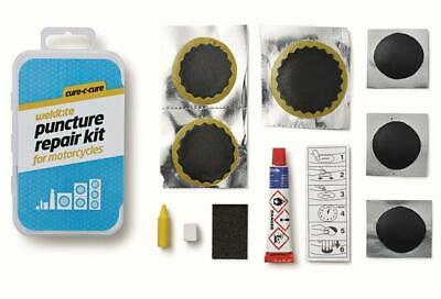 Weldtite Cure-C-Cure Puncture Repair Kit For Motorcycles • 4.95£